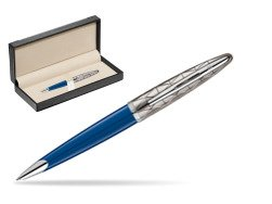 Długopis Waterman Carene Contemporary Blue Obssesion CT w pudełku classic black