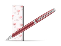 Długopis Waterman Hémisphère 2018 Coral Pink CT  w obwolucie Love is in the air